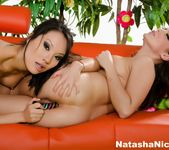 Watch Natasha Nice do her first anal with the help of Asa 11