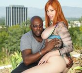 Lauren Phillips - Busty Redhead's Rack Sperm-Slopped 9