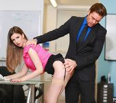 Busty Office Slut Stella Cox Gets Nailed by Her Boss 2