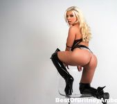Busty Britney Amber looking sexy in her tall black boots 4