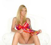 Busty Brooke in her flower dress - Brooke Banner 3