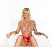 Busty Brooke in her flower dress - Brooke Banner 4