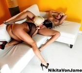 Nikita Von James & Britney Amber fuck each other 6