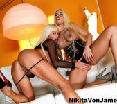 Nikita Von James & Britney Amber fuck each other 11