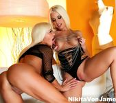 Nikita Von James & Britney Amber fuck each other 12