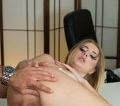 Blonde Secretary Aria Logan Sucks Her Boss's Hard Cock 6