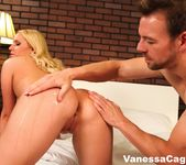 Bubble Butt Vanessa Cage gets her big ass oiled up 4