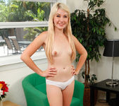 Zelda Morrison - freckled blonde shy about getting naked 14