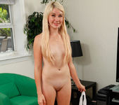 Zelda Morrison - freckled blonde shy about getting naked 22