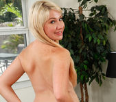 Zelda Morrison - freckled blonde shy about getting naked 27