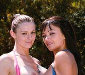 Anal Loving Angelika Wild & Terri Summers Share a Cock 5