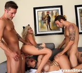 Sex kittens Vyxen Steel & Karmen have a super hot fucking 12
