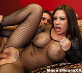 Mason Moore gets a dick pounded in all of her holes 2