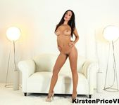 Brunette hottie Kirsten Price shows off her amazing boobs 9