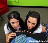 Kirsten Price Double Blowjob fun 2