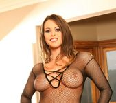 Rachel Roxxx Nude in her fishnet suit 4