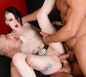 Mallory Maneater Double Penetration - Burning Angel 14