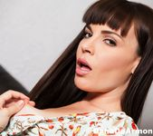 Dana DeArmond takes off her sexy summer dress 10