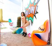 Kimber Woods - Floridian's Scorching Anal Date - Evil Angel 14