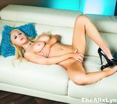 Solo action starring porn starlet Alix Lynx 3