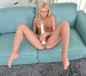 Katrin Tequila slowly taking off her pantyhose 20