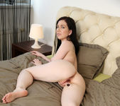 Daphne - cute brunette plugging her pussy 9