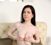 Daphne - cute brunette plugging her pussy 11