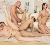 Kari, Mea Melone, Wendy Moon - Swingers Orgies #12 13