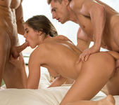 Caprice Loves Double Dick - Colette 4