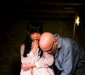 Cute brunette Marica Hase gets tied up in the basement 4