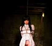 Cute brunette Marica Hase gets tied up in the basement 7