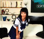 Schoolgirl Marica masturbates on the couch - Marica Hase 2