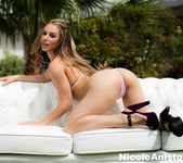 Nicole Aniston gets nude outside 8