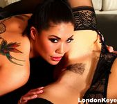 3-way with pornstars Alix Lynx, Alison Tyler & London Keyes 12
