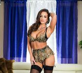 Abigail Mac sexy lingerie tease 11