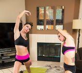 Yoga between special friends 5