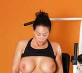 Alison Tyler's X-rated workout 7