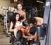 Yuri Luv in Working Out with Veronica and Ed 5