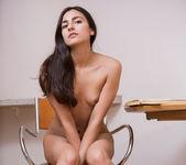 Gorgeous perky brunette Katy P 26
