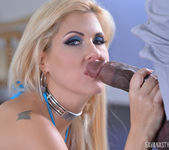 Savana Styles in BBC Down My Throat 8