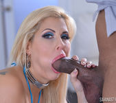 Savana Styles in BBC Down My Throat 11