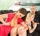 Milf Tina Kay Gets DP During Orgy with Blonde Arteya 5