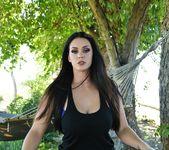 Alison nude outside by the hammock - Alison Tyler 3