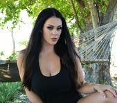 Alison nude outside by the hammock - Alison Tyler 4