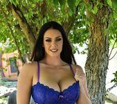 Alison nude outside by the hammock - Alison Tyler 6