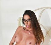 Dava Foxx takes on a dick in her bedroom 11