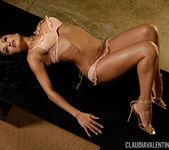 Claudia Valentine in Posing in Pink 4