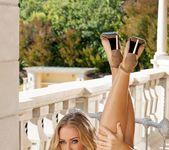 Nicole Aniston - Blue Silk Panties 15