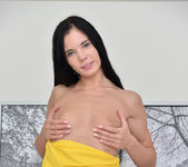 Lovenia Lux takes off her dress and spreads 6