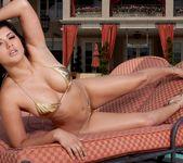 Sunny Leone - Gold Bikini 4
